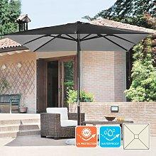 Sombrilla de aluminio cuadrada para terraza y