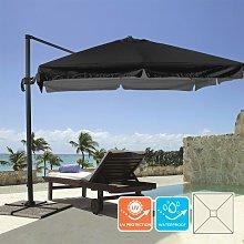 Sombrilla de aluminio para jardín y terraza 3x3m