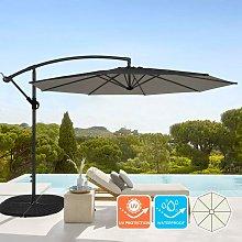 Sombrilla de aluminio para jardín y terraza para