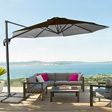 Sombrilla de aluminio para jardín y terraza