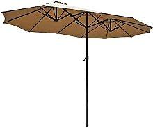 Sombrilla de doble capa, sombrilla de terraza,