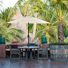 Sombrilla de jardín de 2 m, Sombrilla con