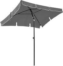Sombrilla de Jardín Rectangular, Parasol,