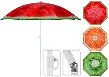 Sombrilla De Playa Ø176Cm Diseño Frutas Varios