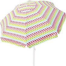 Sombrilla de playa 240 cm con protección UV50