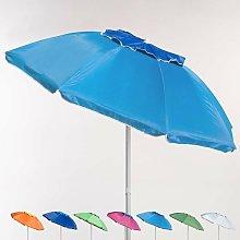Sombrilla de playa aluminio antiviento protección
