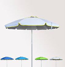 Sombrilla de playa antiviento aluminio protección