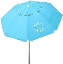Sombrilla de playa azul diámetro 200 cm UV50