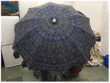 Sombrilla decorativa de jardín con diseño de