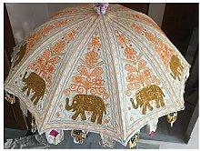 Sombrilla decorativa hecha a mano de gran calidad,