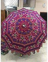 Sombrilla decorativa hecha a mano tradicional de