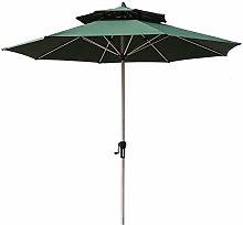 Sombrilla HXFAFA de 270 cm, para mercado, jardín,