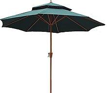 sombrilla jardin 2,7 m Paraguas al aire libre del