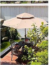 sombrilla jardin 2,7 m Sombrilla de patio de