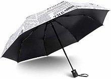 Sombrilla Paraguas de viaje plegable automático,