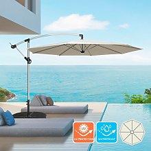 Sombrilla Parasol de jardín 3 metros mástil