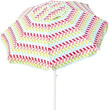 Sombrilla playa 200 cm con protección UV50+ Beach