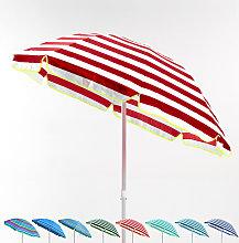 Sombrilla Playa algodón 180 cm ligera Taormina |