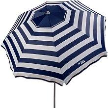 Sombrilla playa antiviento 220 cm con protección