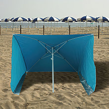 Sombrilla Playa Con laterales Antiviento 170 x 170