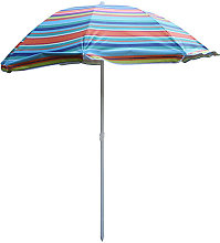SOMBRILLA PLAYA MULTICOLOR - 220 CM C2-0242.. -