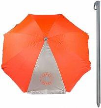 Sombrilla protección rayos uv - 200 cm diámetro