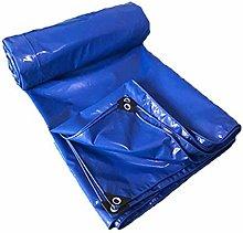 Sombrilla Resistente al Agua de Lona Azul