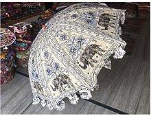 Sombrillas de jardín decorativas hechas a mano