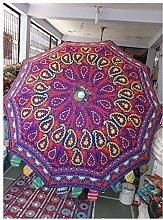 Sombrillas decorativas de jardín con diseño de