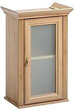 SomProduct - Mueble de baño colgante con vitrina,