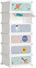 SONGMICS Estantería Modular Infantil de 6 Cubos,