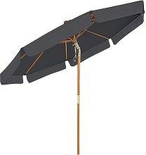 Songmics - Paraguas de Jardín de 3 m, Sombrilla