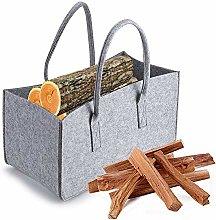 SOONHUA Bolsa de Leña Bolsa de Madera para Leña