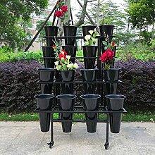 Soporte De Flores De 4 Capas Bastidores De Flores