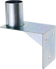 Soporte de pared para espejo convexo de seguridad