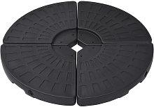 Soporte de sombrilla en forma de ventilador 4
