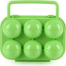 Soporte para huevos de almacenamiento, portátil