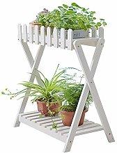 Soporte para Plantas De 2 Niveles: Estante De