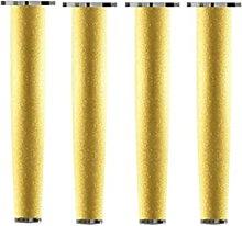 SRHWBF De 4 Muebles De Oro Patas,de Ajuste De La