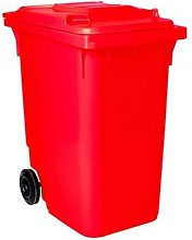 Ssi Schaefer - Contenedor Basura 360 litros (ROJO)