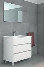 Stano - Conjunto ALCOA, Mueble de lavabo 80cm y