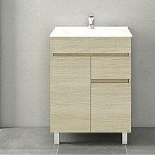 Stano - Conjunto CLIF, Mueble de lavabo 60cm y