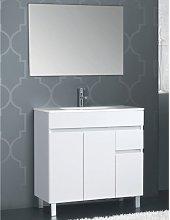 Stano - Conjunto CLIF, Mueble de lavabo 80cm y