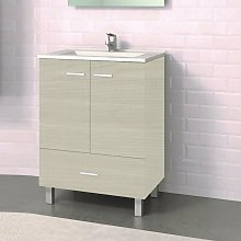 Stano - Conjunto RAKI, Mueble de lavabo 60cm y
