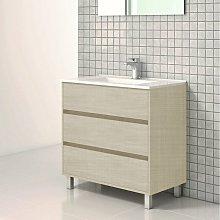 Stano - Mueble de Lavabo con Patas ALCOA - 80 cm