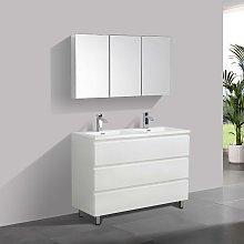 Stano - Mueble Lavabo + Lavabo 120 cm MONTADO -
