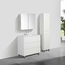 Stano - Mueble Lavabo + Lavabo 90 cm MONTADO -