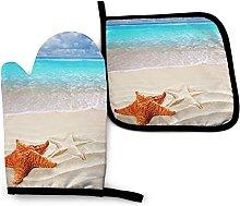 Starfish Ocean Beach - Juego de Manoplas y Porta