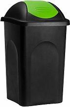 Stefanplast Cubo de basura de 60L con tapa