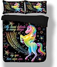 Sticker superb Elegante Vistoso Unicornio Juego de